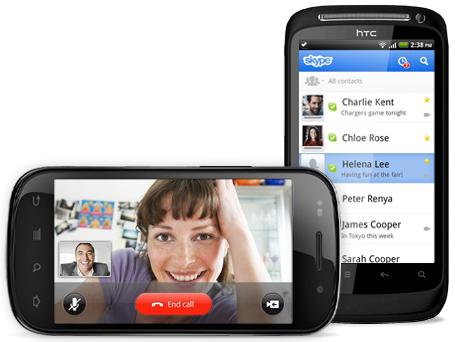 Скачать скайп приложения на андроид